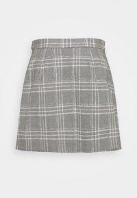 Banana Republic - FRONT PLEAT - A-line skirt - dark grey - 1