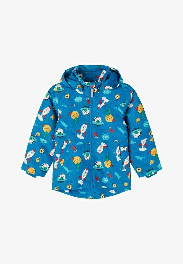 Waterproof jacket - mykonos blue