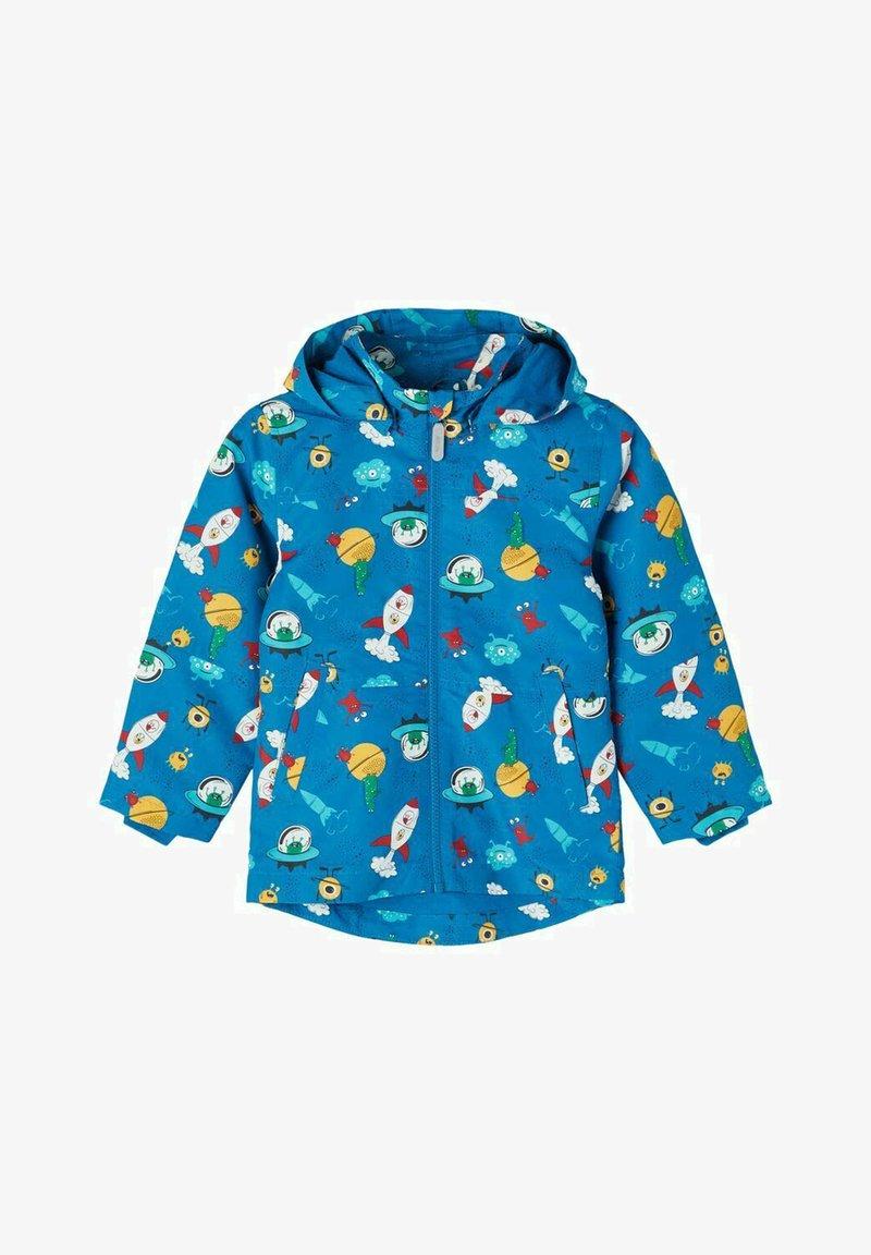 Name it - Waterproof jacket - mykonos blue