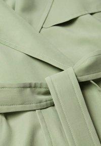 Mango - Trenchcoat - vert menthe - 6