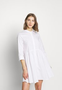 ONLY - ONLDITTE LIFE DRESS - Košilové šaty - white - 0