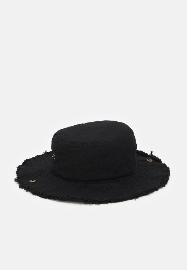 BUCKET HAT UNISEX - Kapelusz - black