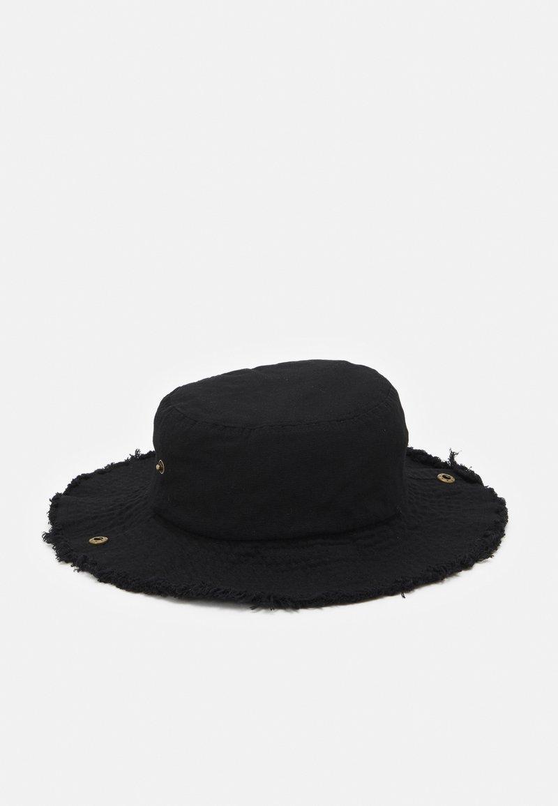 Uncommon Souls - BUCKET HAT UNISEX - Hattu - black