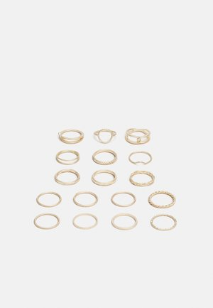 17 PACK - Ring - gold-coloured