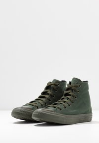 Converse - CHUCK TAYLOR ALL STAR OPI - High-top trainers - thyme/black - 4