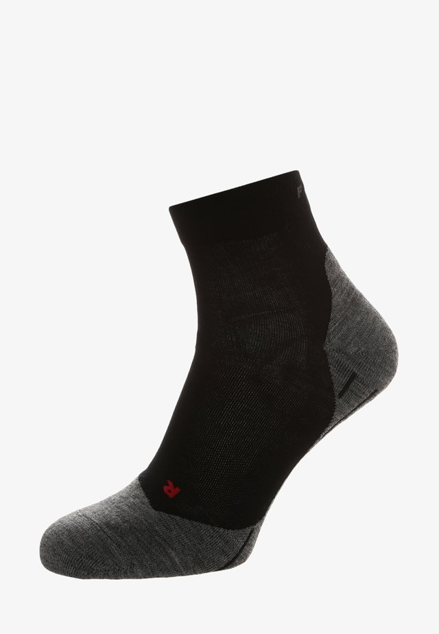 RU4  - Socks - black mix