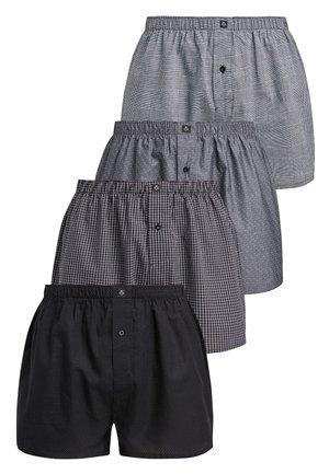 4 PACK - Boxer shorts - black