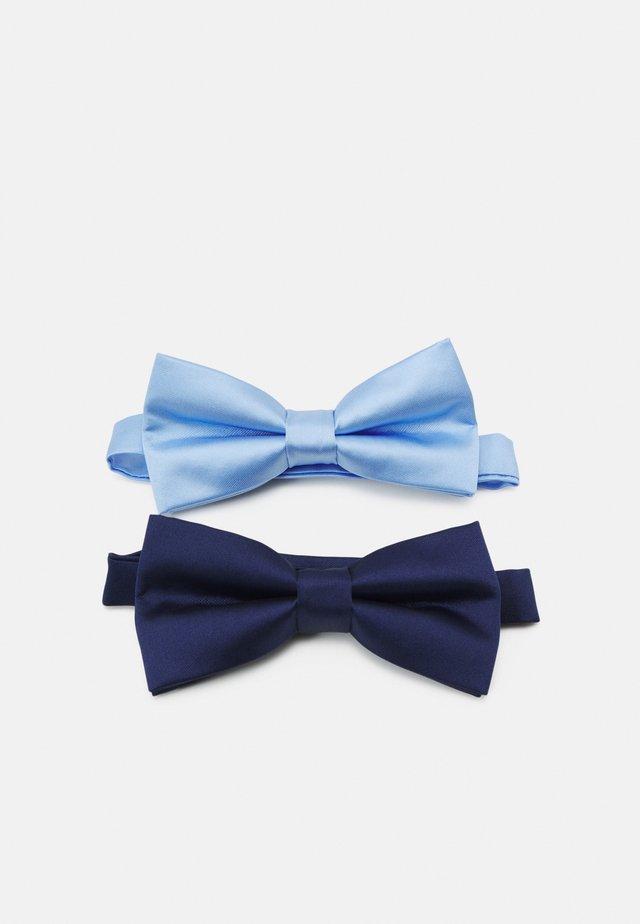 2 PACK - Vlinderdas - dark blue/light blue