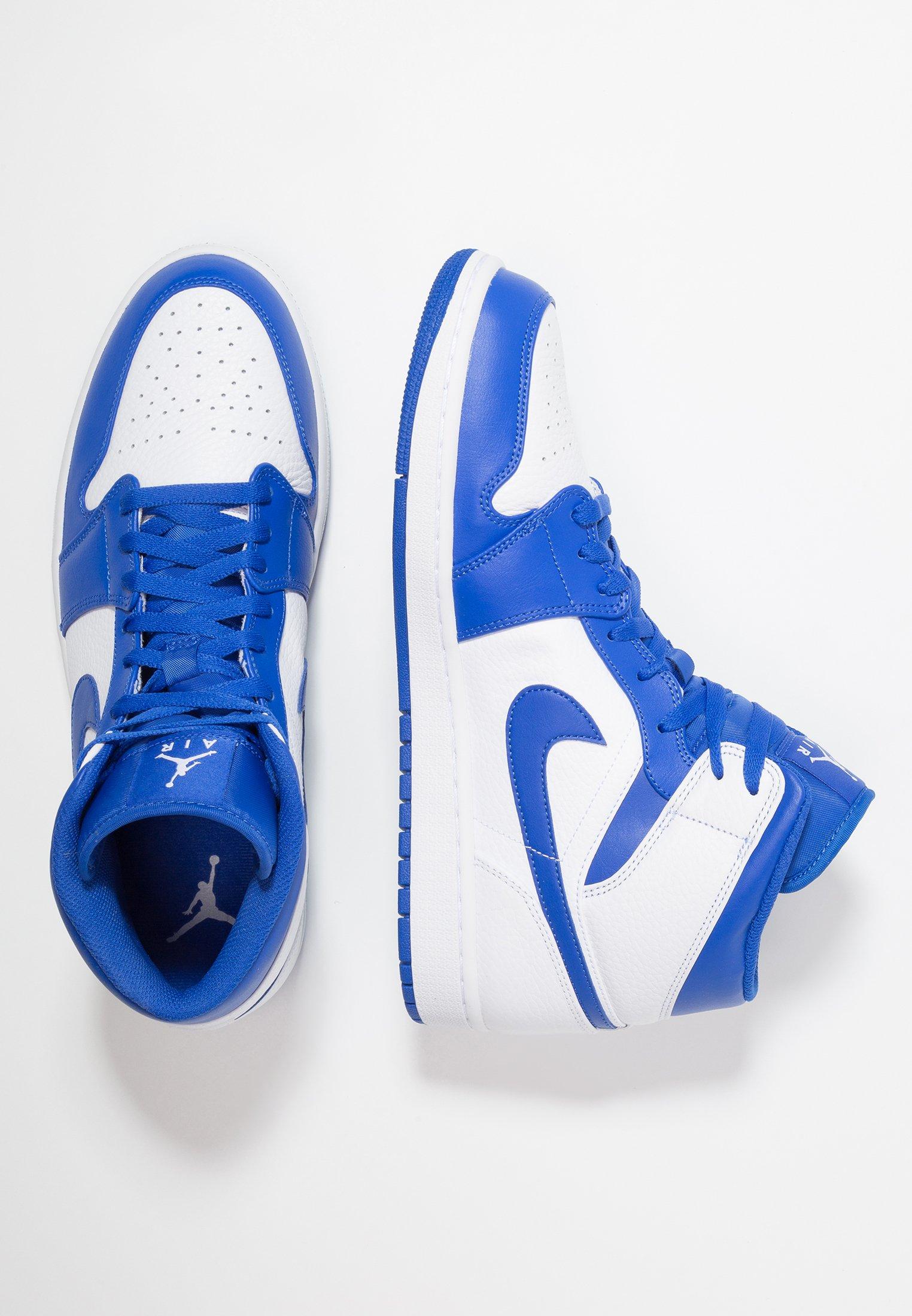 AIR 1 MID - Sneakers alte - white/pure platinum