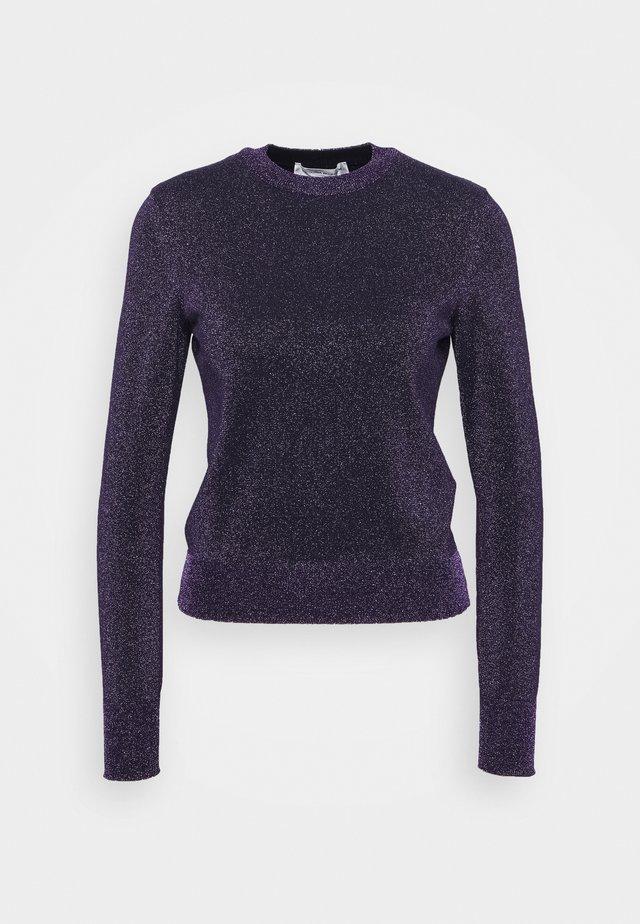 CREWNECK JUMPER - Pullover - dark purple