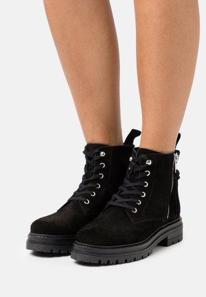 MELINA  - Lace-up ankle boots - black