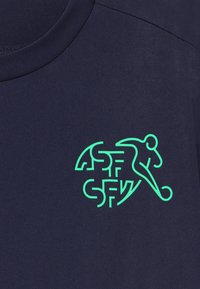 Puma - SCHWEIZ SVF TRAINING - National team wear - peacoat/green glimmer - 3