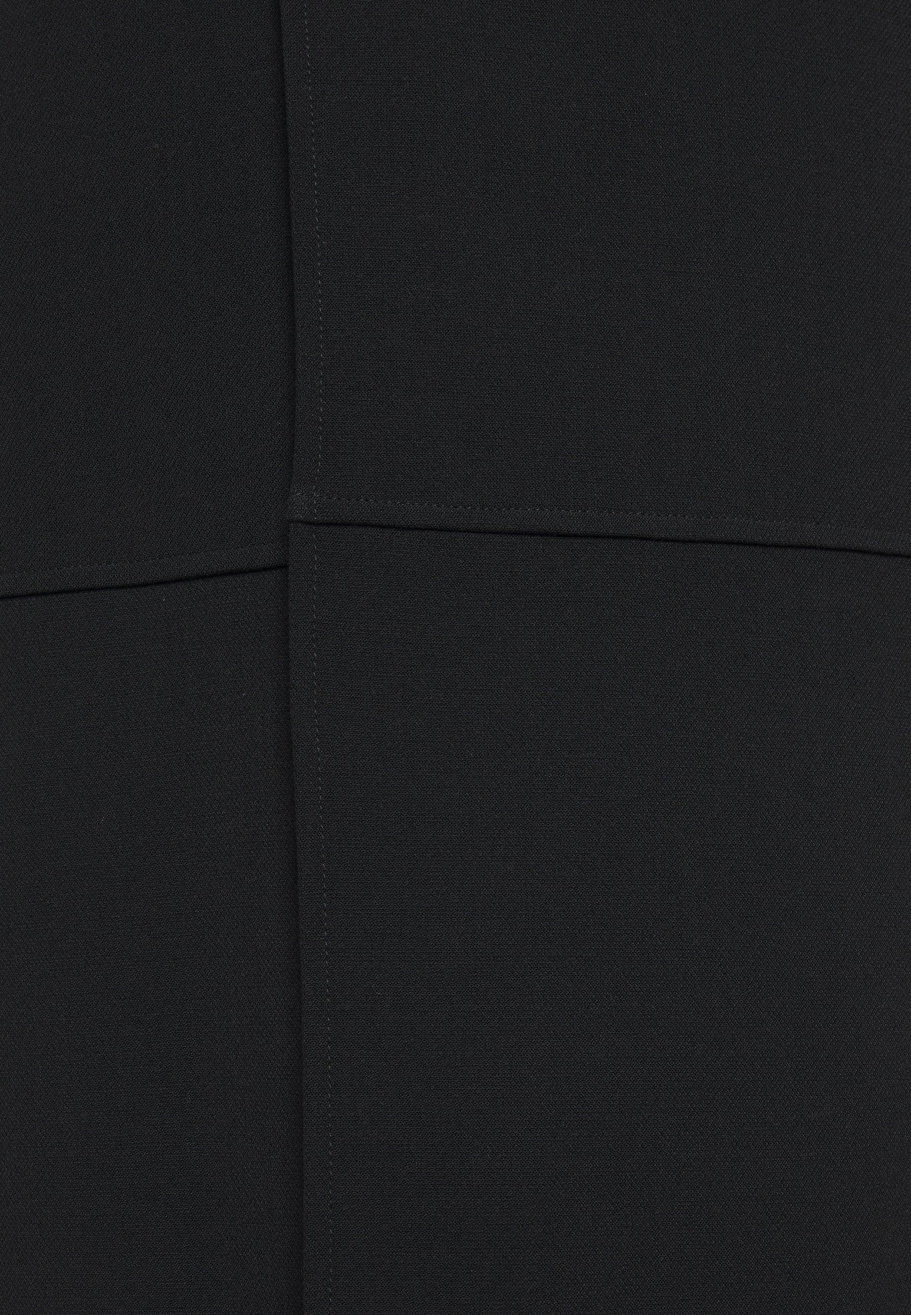 Victoria Beckham VNECK PINAFORE DRESS Freizeitkleid black/schwarz