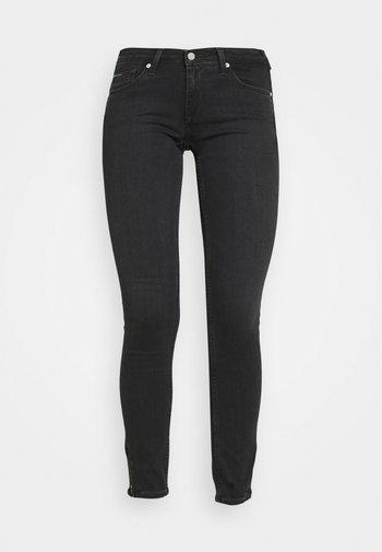 SOPHIE ANKLE ZIP - Jeans Skinny Fit - bird black