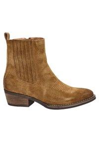Nelson - Cowboy/biker ankle boot - cognac - 2