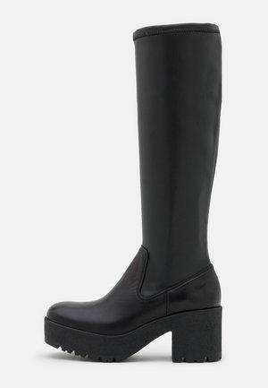 KOLSA - Platform boots - black