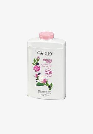 TALCUM PUDER ENGLISH ROSE PARFÜMIERTER BLUMEN DUFT 200 G  - Deodorant - weiß