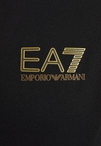 EA7 Emporio Armani - Triko spotiskem - black/gold - 2