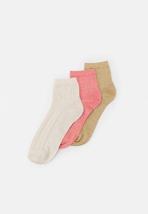 MIX SOCK 3 PACK - Socks - white/georgia/lark