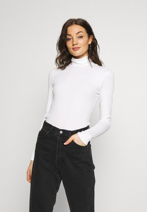 VERENA TURTLENECK - Long sleeved top - white