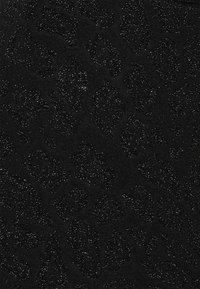 Becksöndergaard - GLITZIE BANDEAU SWIMSUIT - Bañador - black - 2
