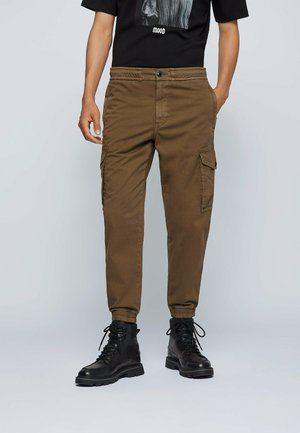 SEILAND - Cargo trousers - dark green