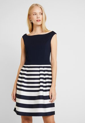 STRIPE DRESS - Day dress - navy