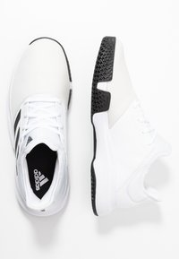 adidas Performance - GAMECOURT BARRICADE CLOUDFOAM TENNIS SHOES - All court tennisskor - footwear white/core black/grey one
