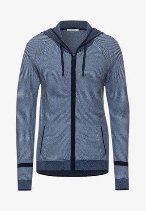 MIT KAPUZE - Zip-up hoodie - blau