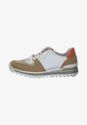 Trainers - nude beige lightgold weiss