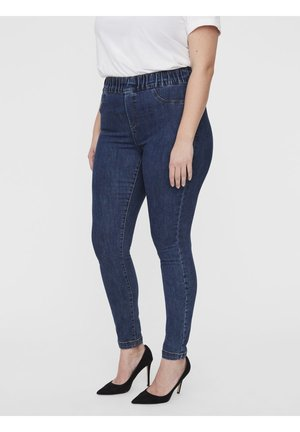 JRZERODARIA - Jeggings - dark blue denim