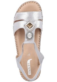 Jenny - Wedge sandals - gray - 1