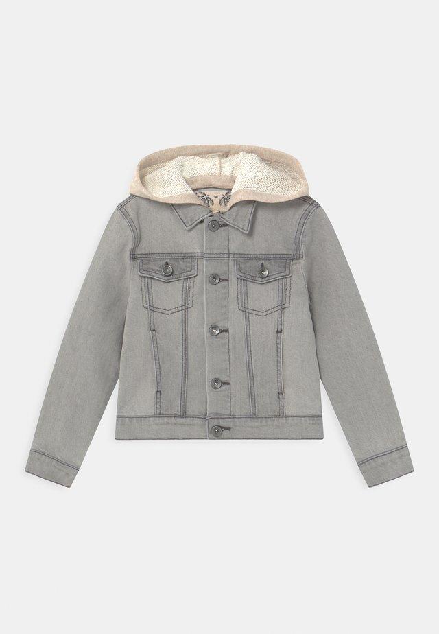 Denim jacket - grey bleach
