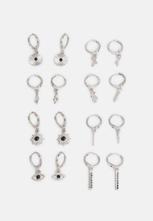 FGSUNSHINE EARRINGS 8 PACK - Øredobber - silver-coloured