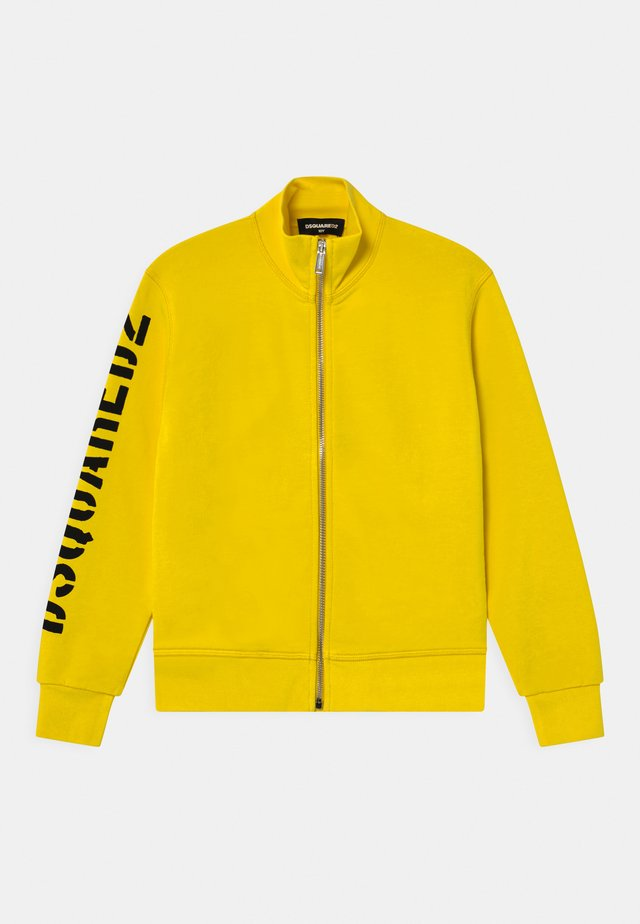 UNISEX - Zip-up hoodie - yellow