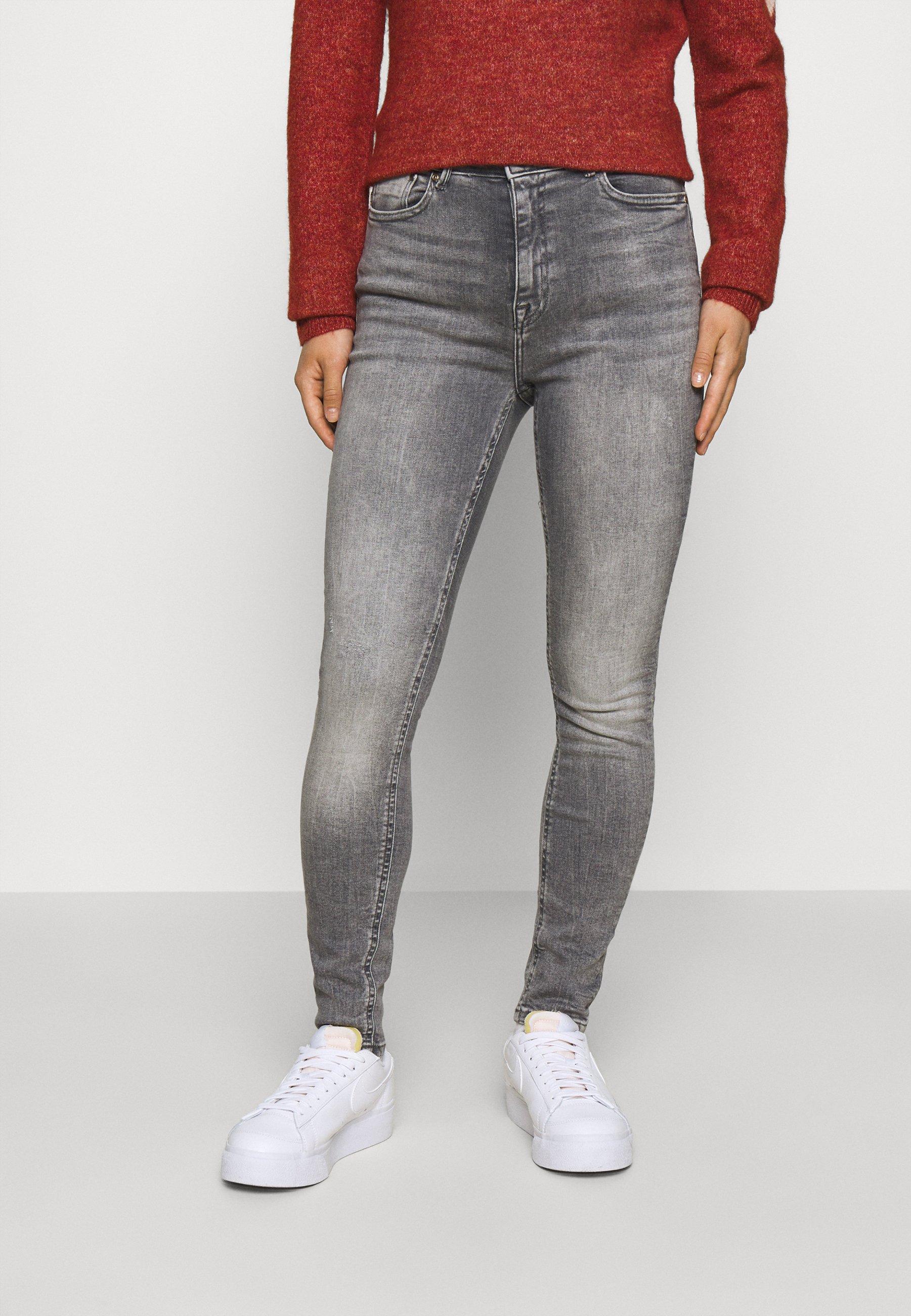 Donna ONLPAOLA LIFE SKINNY - Jeans Skinny Fit