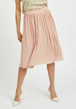 FALTENDETAIL - Pleated skirt - misty rose