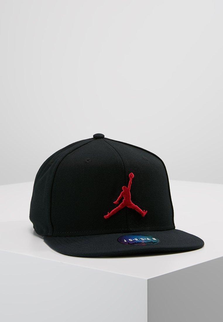 Jordan - JORDAN PRO JUMPMAN SNAPBACK - Kšiltovka - black/gym red