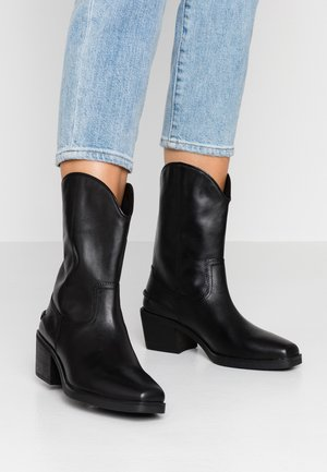 SIMONE - Cowboystøvler - black