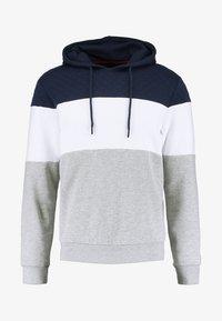 Pier One - Hoodie - light grey/dark blue - 4