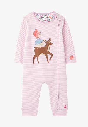 WINFIELD - Pyjama - rosa tier streifen