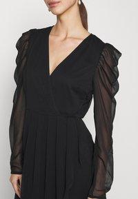 Vila - VIELLIAN DRESS - Day dress - black - 5