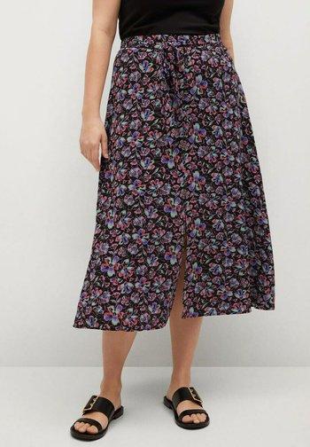 LARGA8 - A-line skirt - noir