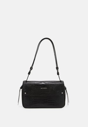 IKON CROC SHOULDERBAG - Håndveske - black
