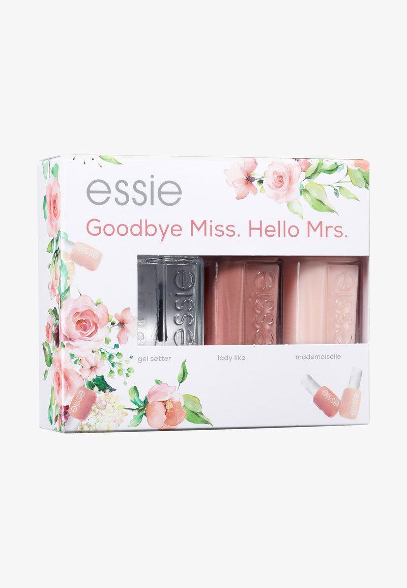 Essie - BRIDE SET GOODBYE MISS. HELLO MRS. - Nail set - 101 lady like/ 14 mademoiselle