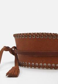 TWINSET - BELT - Waist belt - cognac - 2