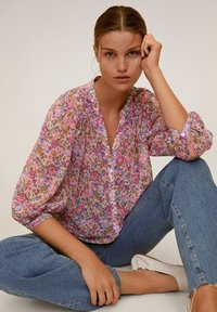 Mango - PRARIE6 - Blouse - rose - 3