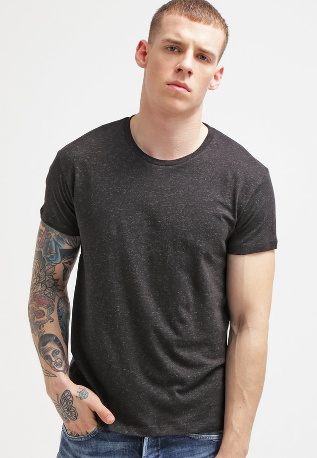 T-shirt basique - black melange