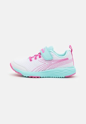 FLAMINGO 6 JR UNISEX - Neutral running shoes - white/blue tint