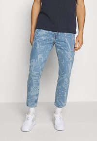 Tommy Jeans - DAD JEAN STRAIGHT - Jeans straight leg - laser light blue rigid - 0